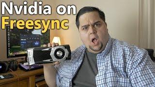 Using an Nvidia GPU with a FreeSync Monitor