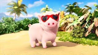 Con Lợn Éc - LK Nhạc Thiếu Nhi Remix Sôi Động Hay Nhất Cho Bé - Con Cào Cào - Một Con Vịt