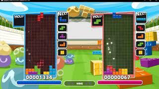Ryujinx 1.0.801 | Puyo Puyo Tetris Gameplay
