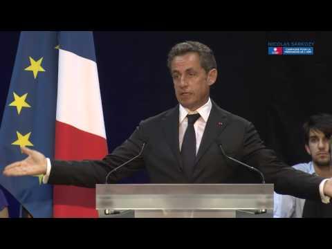 Nicolas Sarkozy en meeting à Marseille