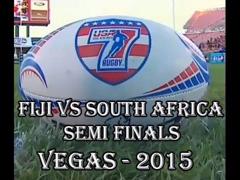 Fiji vs South Africa Semi Finals Vegas 7's USA Feb 2015