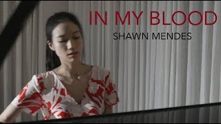 Download Lagu Shawn Mendes - In My Blood   Piano Cover by Annie Jeng Gratis STAFABAND