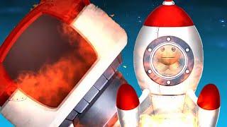 Space Mission Buddy High-G Machine | Kick The Buddy
