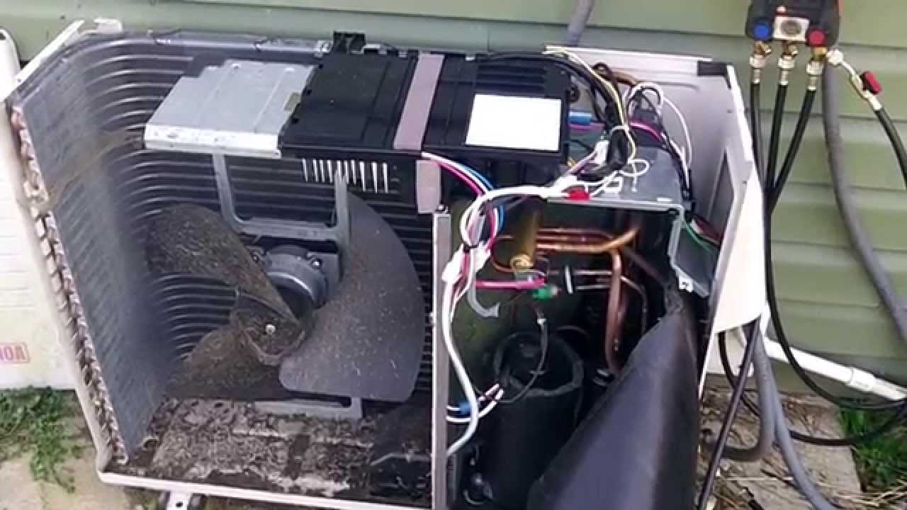 Sanyo Ductless Heatpump Mini Split Repair Youtube