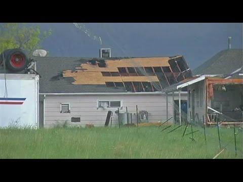 8 Reported Tornadoes Tear Through Colorado, Kansas