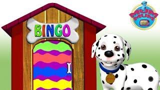 Bingo Dog Song - Nursery Rhymes for Children & Kids Songs | Bingo was his name | Mum Mum TV