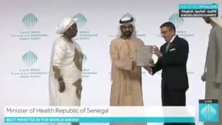 Dubaï | Awa Marie Coll Seck récompensée