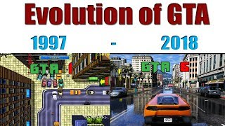 EVOLUTION OF GRAND THIEF AUTO GAMES!! 1997 - 2018