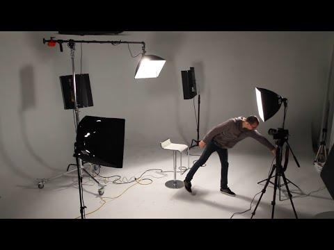 Filmmaking 101 - Three Point Lighting Tutorial