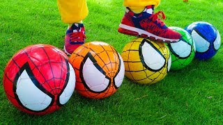 The Soccer Song (Football Song) Nursery Rhymes for Kids