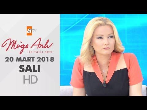 Müge Anlı ile Tatlı Sert 20 Mart 2018 | Salı