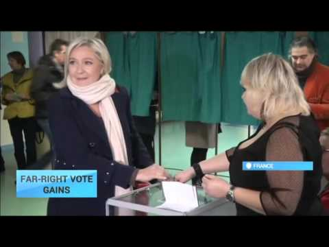 France Far-Right Makes Record Gains in Poll: Front National lead 3 weeks after Paris attacks