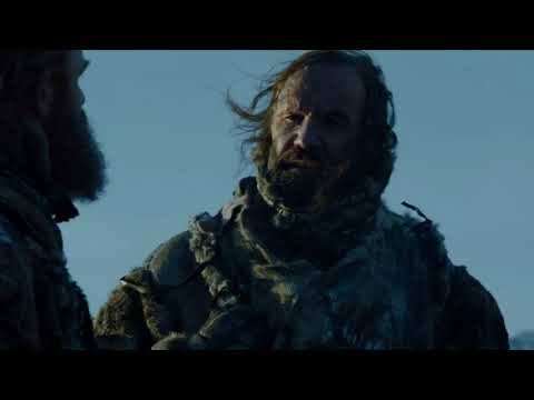 Game of Thrones 7x06 - Tormund and The Hound Talk About Brienne
