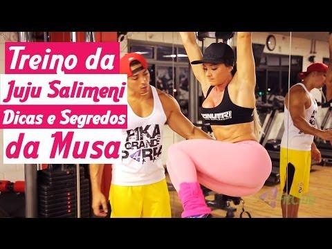 Treino Da Juju Salimeni - Dicas E Segredos Da Musa video