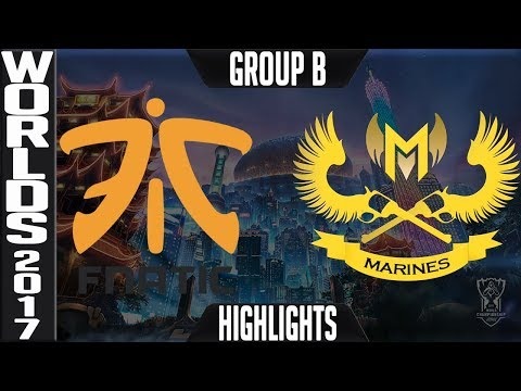 FNC vs GAM Highlights S7 Worlds 2017 Group Stage Day 1 Game 4 Group B - Fnatic vs Gigabyte Marines