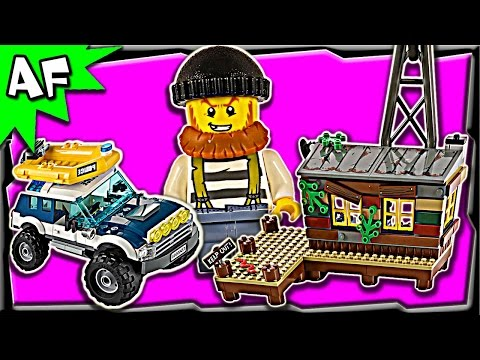 Lego City Swamp Police CROOKS' HIDEOUT 60068 Stop Motion Build Review