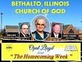 """THE HOMECOMING WEEK"" ~ OPAL LLOYD singing ~ Bethalto IL Church of God 5-11-2003"