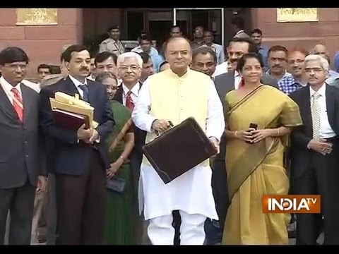 Union Budget 2014 live on India TV,  Part 2