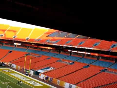 Land Shark Stadium - Orange Bowl pre-game Video