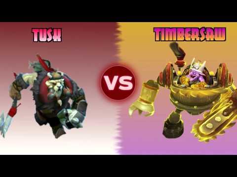 Dota Duels [s2:ep.1]: Tusk vs Timbersaw