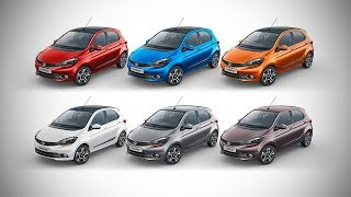 Tata Tiago XZ+ - All Colour Options - Images | AUTOBICS