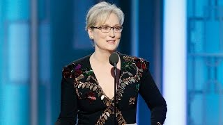 Meryl Streep DISSES Donald Trump in Powerful 2017 Golden Globes Speech