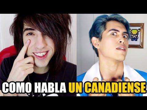 COMO HABLA UN CANADIENSE | JORDAN SWEETO | Otra Vez Lunes Show