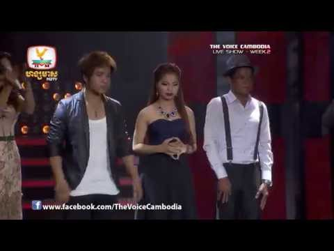 The Voice Cambodia - Live Show 2 - Plex Sonya Sayoin - Chhay Sovy