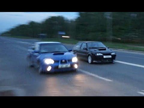 Ваз 2113 против Subaru Impreza WRX