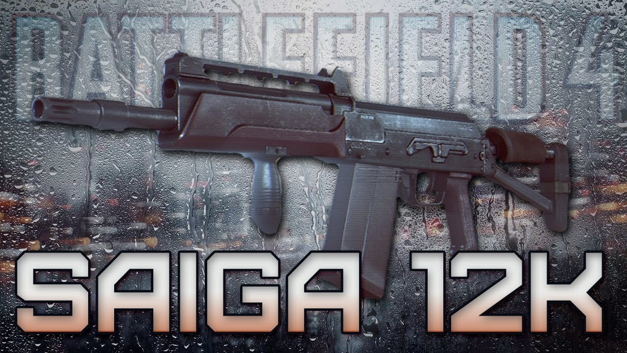 BF4 SAIGA 12K Review  M1014 Bf4