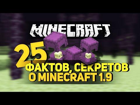 25 фактов и секретов о Майнкрафт 1.9 / 25 facts and secrets about Minecraft 1.9