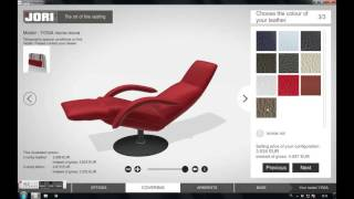 Furniture configurator JORI - part 1