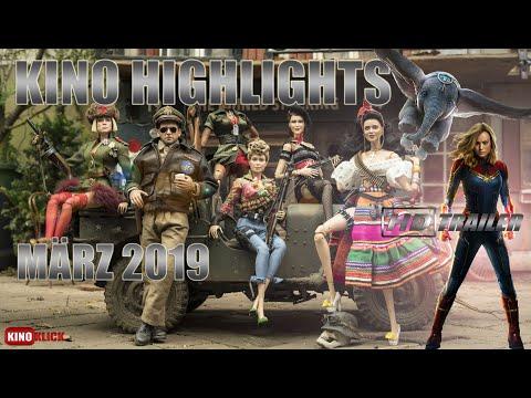 Neue Kino Highlights im März 2019 // Alle Kino Trailer in HD// März 2019 im Kino