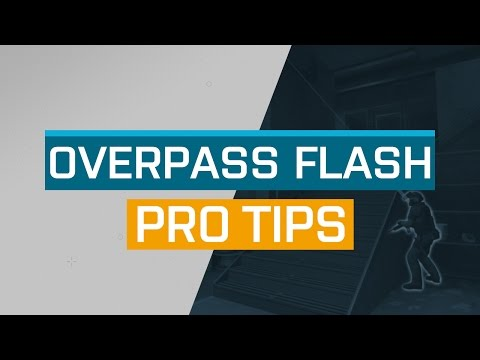 CS:GO - ProTips: Overpass - CT Connector Pop Flash