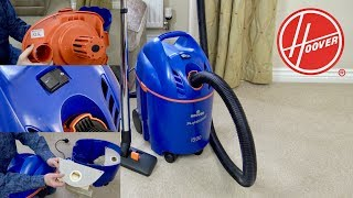 Hoover Professional 1500 Wet&  Dry Vacuum Cleaner Unboxing