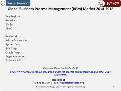 15.87 percent Growth for Business Process Management (BPM) Market Worldwide by 2018