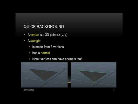 Tutorial 3 - Introduction to OpenGL Shaders