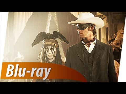 LONE RANGER Blu-ray-Test inkl. Filmszene Trailer Deutsch German