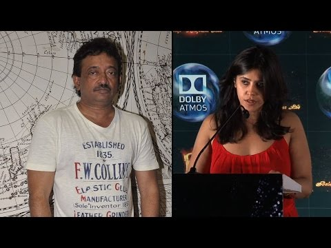 Ekta Kapoor AVOIDS question on fight with RGV
