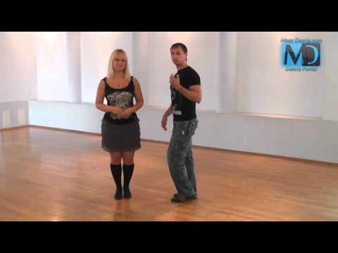 Сальса. Видео урок №1 от MostDance.com (Голинищенко, Вишняков)