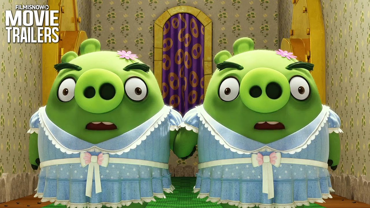 Meet the pigs in a NEW spot from THE ANGRY BIRDS MOVIE [HD]