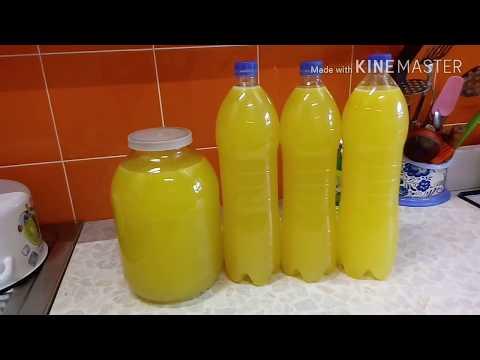Апельсиновый сок. Из 3 апельсинов 7 литра сока или напитка.