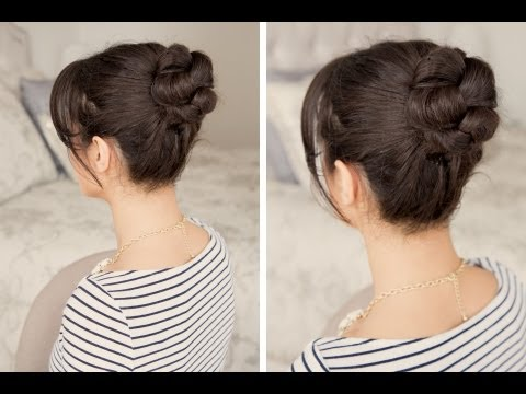 How to: Braided Bun Hair Tutorial - Fonott frizura