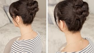 How to: Braided Bun Hair Tutorial
