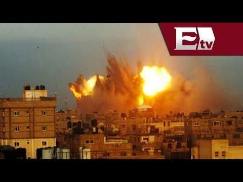 Israel retoma ataques contra Gaza / Excélsior Informa