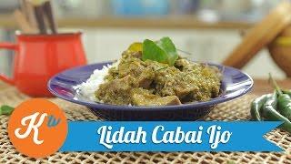 Resep Lidah Cabai Ijo | YUDA BUSTARA