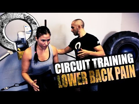 Circuit Training for Low Back Pain with MMA fighter Kerry Vera Image 1