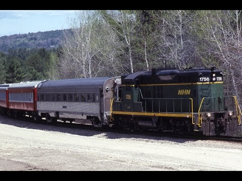 !LOOK! NHN Mixed Train Dover to Ossipee,NH 04/26/1991