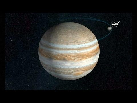 Juno autour de Jupiter