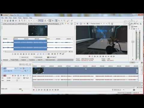 Видеоуроки по Sony Vegas Pro 10 - видео